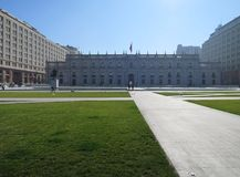 La Moneda de Palacio Photo stock
