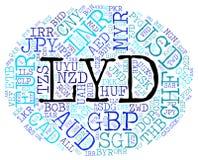La moneda del LYD significa el dinar libio y la moneda libre illustration