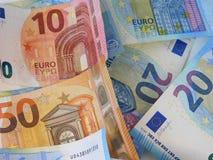 La moneda europea fotos de archivo libres de regalías