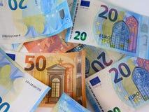 La moneda europea imagen de archivo libre de regalías
