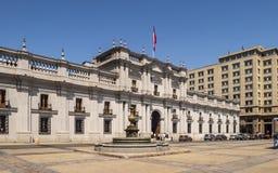 La Moneda house stock photos