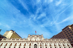 La Moneda Palace in Chile Royalty Free Stock Images