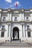 La Moneda Palace Santiago de Chile royalty free stock photos