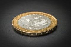 La moneta dieci rubli Immagini Stock Libere da Diritti