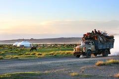 La Mongolia Immagini Stock