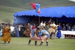 La Mongolia Fotografia Stock Libera da Diritti
