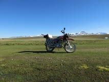 La Mongolia - stile di vita e paesaggio tradizionali in Mongolia ad ovest fotografie stock