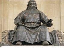 La Mongolie - le Genghis Khan Photo libre de droits