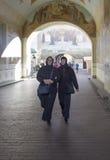La monja en abadía del sergei de Sam, Federación Rusa Imágenes de archivo libres de regalías
