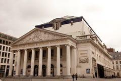 La Monnaie Theatre, Brussels Stock Photo