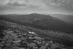 La montaña Foto de archivo libre de regalías