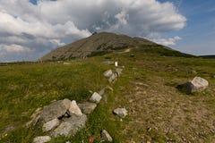 La montaña Imagen de archivo
