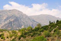 La montaña Fotografía de archivo libre de regalías