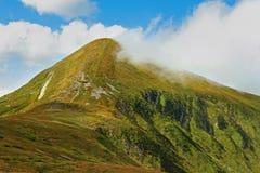 La montaña de Goverla Fotos de archivo