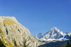 La montaña de Grossglockner vista del sur Fotografía de archivo libre de regalías