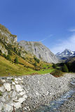 La montaña de Grossglockner vista del sur Imágenes de archivo libres de regalías