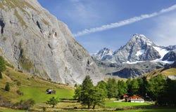 La montaña de Grossglockner vista del sur Foto de archivo libre de regalías
