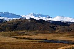 La montaña de Islandia Imagen de archivo libre de regalías