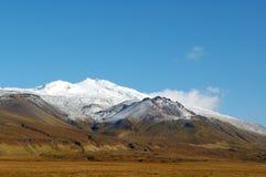 La montaña de Islandia Foto de archivo