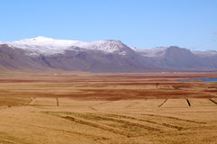 La montaña de Islandia Imágenes de archivo libres de regalías