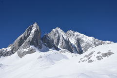 La montaña de la nieve de Jade Dragon Fotos de archivo