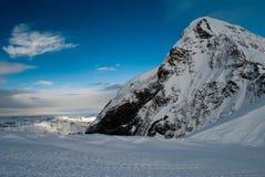 La montaña de Monch Fotos de archivo libres de regalías