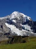 La montaña de Monch en Suiza Imagen de archivo