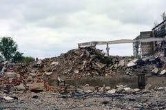 La montaña de la ruina imagen de archivo