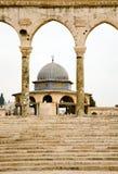 La montaña del templo en Jerusalén. Imagen de archivo libre de regalías