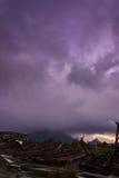 La montaña enojada Fotografía de archivo