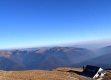 La montaña escoge la visión Fotografía de archivo