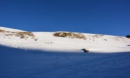 La montaña famosa en Suiza Foto de archivo libre de regalías