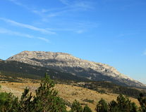 La montaña más alta de Dinara- Croatia Imagen de archivo libre de regalías