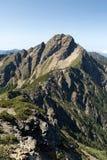 La montaña más alta de East Asia - Mt. Yushan Imagenes de archivo