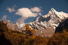 La montaña sagrada de la nieve de Chanadorje Foto de archivo libre de regalías