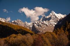 La montaña sagrada de la nieve de Chanadorje Fotos de archivo libres de regalías