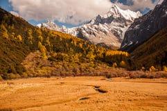 La montaña sagrada de la nieve de Chanadorje Fotografía de archivo