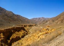 la monta?a de 7 colores, Jujuy, la Argentina del arco iris foto de archivo