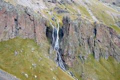 La montagna cade sul nonte Elbrus Fotografia Stock Libera da Diritti