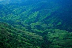 La montagna della Tailandia Fotografie Stock