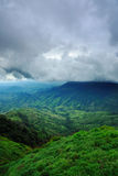 La montagna della Tailandia Fotografia Stock