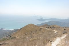 La montagna di Hong Kong fotografia stock libera da diritti