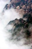 La montagna di Huangshan Immagini Stock