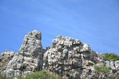 La montagna di Sammuk bangsaen Immagine Stock