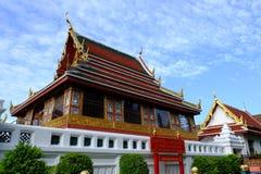 La montagna dorata al tempio di Saket Fotografie Stock