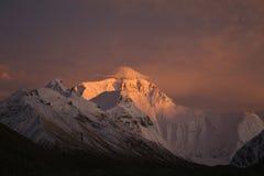 La montagna Everest Fotografia Stock Libera da Diritti