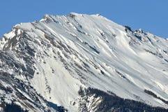 La montagna ha chiamato il noir del sesso nelle alpi svizzere Immagine Stock Libera da Diritti