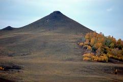 La montagna ha chiamato il seno della Women   Fotografie Stock