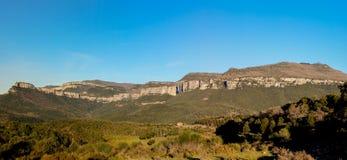 La montagna imponente dell'itinerario dal EL lontano Immagini Stock