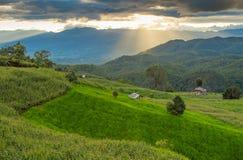 La montagna nel MAI di Chaing, Tailandia Fotografia Stock Libera da Diritti
